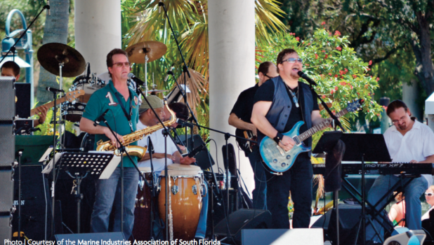 Singing the marine industry's praises Music, educational seminars and family-fun activities will take place during the annual Marine Industry Day on Saturday, June 18, at Esplanade Park in Fort Lauderdale. For more information go to www.marineindustryday.org.